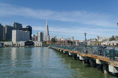 Σαν Φρανσίσκο dowtown Στοκ Εικόνα