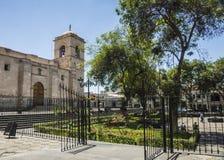 Σαν Φρανσίσκο Plaza, Arequipa, Περού Στοκ Φωτογραφία