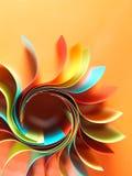 σαν χρωματισμένο διαμορφωμένο έγγραφο ήλιο δομών Στοκ εικόνα με δικαίωμα ελεύθερης χρήσης