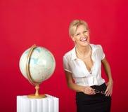 σαν όμορφη γυναίκα δασκάλ& Στοκ εικόνα με δικαίωμα ελεύθερης χρήσης