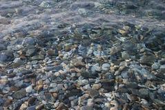 σαν backround σαφή θάλασσα Στοκ Φωτογραφίες