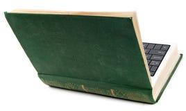 σαν lap-top βιβλίων παλαιό Στοκ εικόνες με δικαίωμα ελεύθερης χρήσης