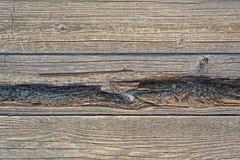 Σαπίζοντας πίνακας γεφυρών Στοκ Φωτογραφία