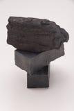 Σαπούνι άνθρακα και ένας σωρός του άνθρακα στοκ εικόνα