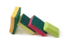 Σαπούνι και σφουγγάρι Στοκ Εικόνα