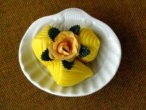 σαπούνι λουλουδιών ράβδ& Στοκ Εικόνες