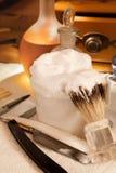 Σαπούνι ξυρίσματος Στοκ φωτογραφίες με δικαίωμα ελεύθερης χρήσης