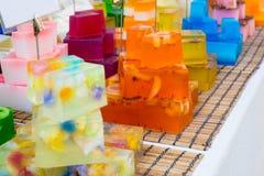 Σαπούνι σε έναν στάβλο αγοράς Στοκ Φωτογραφίες