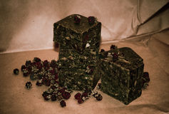 Σαπούνι σοκολάτας Στοκ εικόνα με δικαίωμα ελεύθερης χρήσης