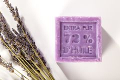 Σαπούνι της Μασσαλίας Στοκ φωτογραφία με δικαίωμα ελεύθερης χρήσης
