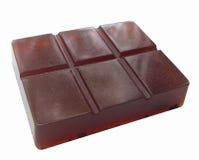 Σαπούνι υπό μορφή ράβδου σοκολάτας Στοκ φωτογραφία με δικαίωμα ελεύθερης χρήσης
