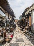 Σαράγεβο, Βοσνία-Ερζεγοβίνη, Ευρώπη, χειροτεχνικό τέταρτο Στοκ Εικόνες