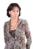 σαράντα έτη γυναικών πορτρέτ& Στοκ φωτογραφία με δικαίωμα ελεύθερης χρήσης