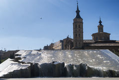 Σαραγόσα (Αραγονία, Ισπανία) Στοκ Φωτογραφίες
