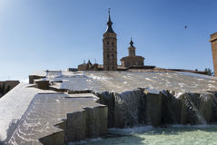 Σαραγόσα (Αραγονία, Ισπανία) Στοκ Εικόνες