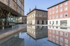 Σαραγόσα, Αραγονία, Ισπανία Στοκ εικόνα με δικαίωμα ελεύθερης χρήσης
