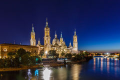 Σαραγόσα το καλοκαίρι, Ισπανία, Αραγονία Στοκ φωτογραφίες με δικαίωμα ελεύθερης χρήσης