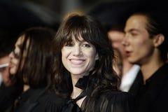 Σαρλόττα Gainsbourg attensd η διαλογή στοκ εικόνα