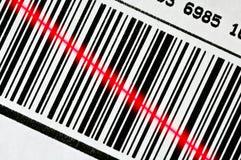 σαρωτής κώδικα ράβδων Στοκ εικόνες με δικαίωμα ελεύθερης χρήσης