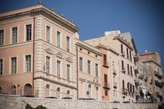 Σαρδηνία. Ιστορικά κτήρια Στοκ Φωτογραφίες