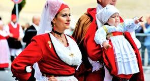 Σαρδηνιακή παράδοση Στοκ φωτογραφία με δικαίωμα ελεύθερης χρήσης