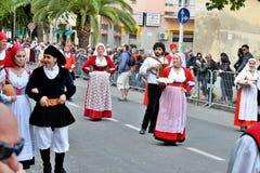 Σαρδηνιακή παράδοση Στοκ εικόνα με δικαίωμα ελεύθερης χρήσης