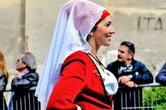 Σαρδηνιακή παράδοση Στοκ Φωτογραφίες