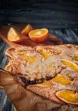 Σαρλόττα με τα πορτοκάλια Στοκ εικόνα με δικαίωμα ελεύθερης χρήσης