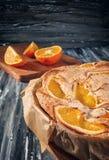 Σαρλόττα με τα πορτοκάλια Στοκ Φωτογραφία