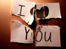 σας αγαπώ Στοκ Φωτογραφίες