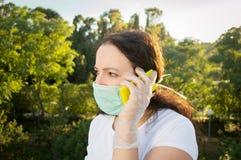 Σας ενημερώστε για τον ιό Στοκ Εικόνες