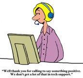 Σας ευχαριστούμε στην υποστήριξη τεχνολογίας Στοκ Εικόνα