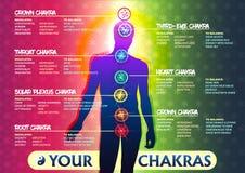 7 σας Chakras ελεύθερη απεικόνιση δικαιώματος