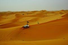 Σαφάρι Ντουμπάι ερήμων Στοκ Εικόνες