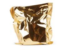 Σαφές άσπρο πρότυπο πακέτων τσιπ Μπισκότο, καραμέλα, ζάχαρη, κροτίδα, καρύδια, jujube πλαστικό εμπορευματοκιβώτιο φύλλων αλουμινί Στοκ εικόνες με δικαίωμα ελεύθερης χρήσης