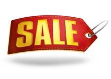 σαφές διάνυσμα ετικεττών πώλησης κορδελλών απεικόνισης κόκκινο Στοκ Φωτογραφίες