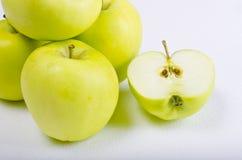 σαφές λευκό μήλων Στοκ Εικόνες