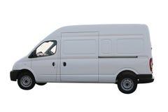 σαφές λευκό φορτηγών Στοκ Εικόνα