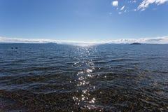 Σαφές νερό Taupo λιμνών Στοκ εικόνα με δικαίωμα ελεύθερης χρήσης