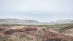 Σαφές νησί ακρωτηρίων που κοιτάζει προς Fastnet Στοκ εικόνα με δικαίωμα ελεύθερης χρήσης