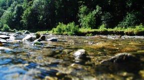 σαφές ρεύμα βουνών Στοκ εικόνες με δικαίωμα ελεύθερης χρήσης