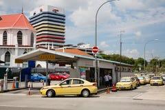 Σαφές τερματικό του Johore στη Σιγκαπούρη Στοκ εικόνα με δικαίωμα ελεύθερης χρήσης