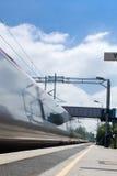σαφές τραίνο Στοκ Φωτογραφίες