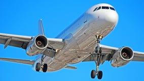 Σαφές airbus αεροπλάνων A320 στοκ φωτογραφία με δικαίωμα ελεύθερης χρήσης