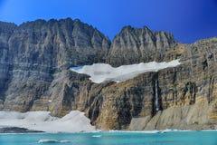 Σαφής μπλε ουρανός παγετώνων Grinnell, εθνικό πάρκο παγετώνων Στοκ φωτογραφίες με δικαίωμα ελεύθερης χρήσης
