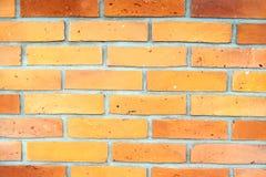 σαφής τοίχος τούβλου Στοκ φωτογραφία με δικαίωμα ελεύθερης χρήσης