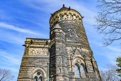 σαφής james αναμνηστικός Οχάιο ημέρας του Κλήβελαντ garfield χειμώνας Μνημείο Garfield Στοκ Φωτογραφία