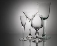 σαφή γυαλιά Στοκ Εικόνα