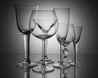 σαφή γυαλιά Στοκ Εικόνες