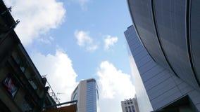 Σαφείς ουρανοί Χονγκ Κονγκ απόθεμα βίντεο